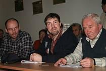 Benešovští zastupitelé Václav Chuchma, Pavel Ptáček a Štefan Čajan (zleva).