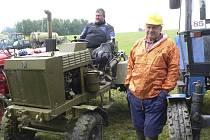 Druhý ročník traktoriády v Bujanově.