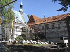 Českokrumlovský klášter.