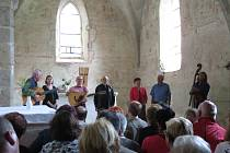 Koncert Spirituál Kvintetu v boletickém kostele byl opět beznadějně vyprodaný.
