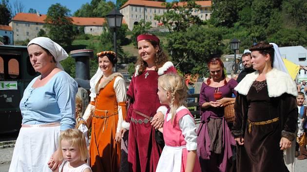 Rožmberské slavnosti připomněly slávu města