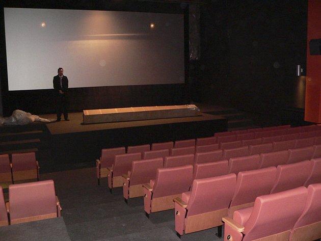 Nový kinosál.
