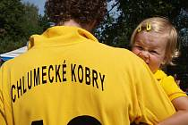 Domácí na turnaj každoročně staví vlastní tým nazvaný Chlumecké kobry.