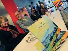 Kniha maleb a kreseb o Kleti byla pokřtěna v českobudějovickém knihkupectví.
