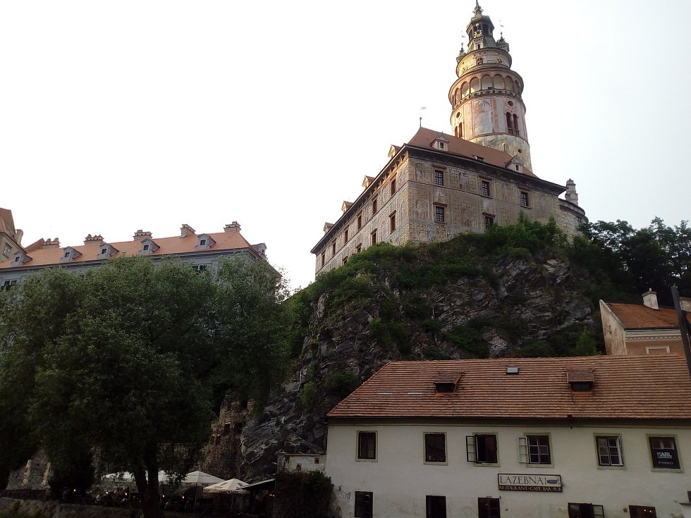Podvečerní Český Krumlov