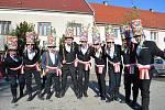 Masopustní průvod v Horním Dvořišti bavil sebe a okolí.