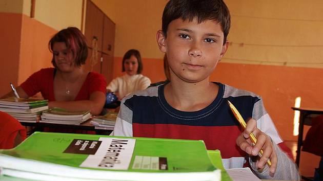 Zahájení školního roku na kaplickém gymnáziu.