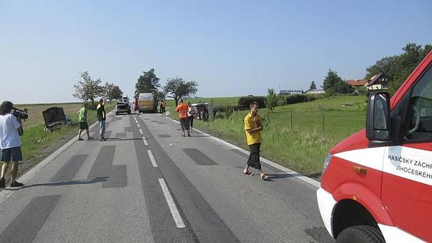 Dopravní nehoda u Kosova.