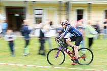 Sedmý ročník triatlonu Železný adiktolog se konal v zámeckém parku v Červeném Dvoře.