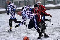 Přípravné fotbalové utkání / FC Šumava Frymburk - FK Dolní Dvořiště 2:1 (1:0).