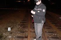 V úterý večer okolnosti nehody na místě, čili v kolejišti kaplického nádraží, šetřili policisté i odborní pracovníci železnice.