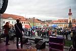 Přípravy na Krampus Show 2015 v Kaplici.
