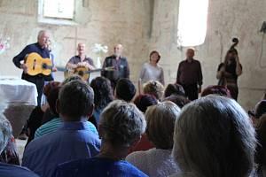 Spirituál Kvintet potěšil svým koncertem své příznivce v boletickém kostele.