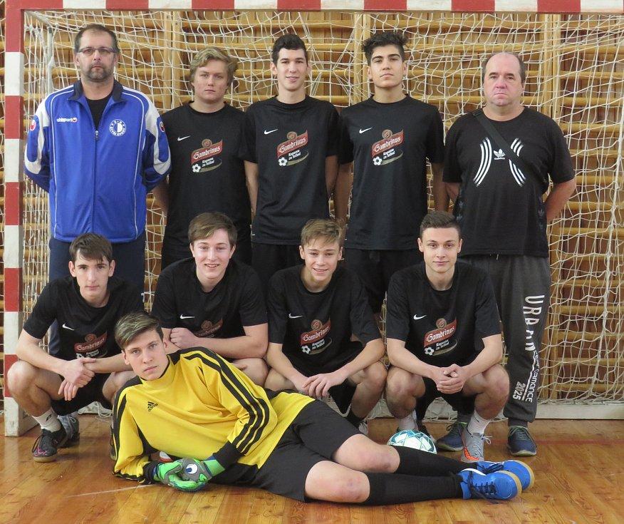 6. ročník Sunar pneuservis Cupu dorostenců v Kaplici - 4. místo SK Čtyři Dvory.