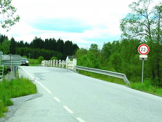 Mostek v Ličově.