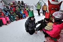Tři králové ve Ski areálu Lipno.