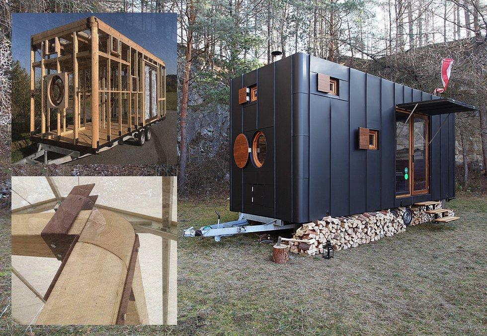 Aranka v ořechu, Martin Kožnar Architekt s.r.o.; Vítěz odborné poroty v kategorii Dřevěné interiéry – realizace.