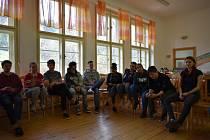 Médiakemp v Zátoni pořádalo krumlovské Centrum pro pomoc dětem a mládeži.