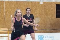 Badmintonový pár Hana Milisová a Lucie Černá z SKB Český Krumlov skončila na turnaji v Praze druhý.