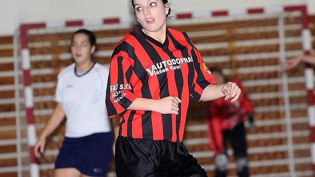 Jihočeská liga žen ve futsalu / FC Šumava Frymburk - FK Topmen Spartak Kaplice 2:5 (0:4).