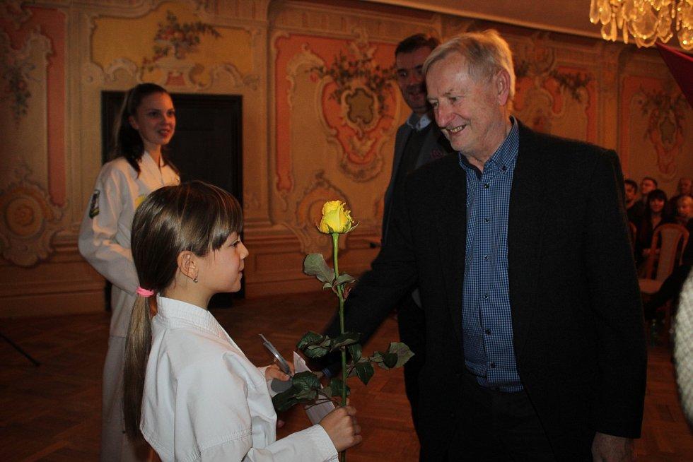 Českokrumlovské okresní sdružení ČUS ocenilo i sedmičku talentovaných sportovců.