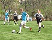 Divize ženy (sk. D) - 18. kolo: Spartak Kaplice (modré dresy) - Sokol Sezimovo Ústí 1:0 (0:0).