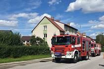 Neplánované přerušení vedení plynu si vyžádalo evakuaci osob v okolí.