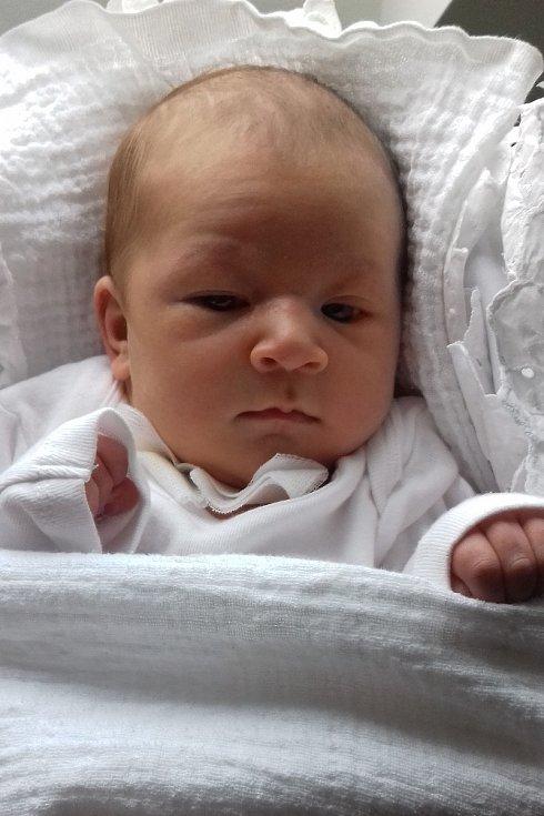 Emma Hanušová z Křemže se narodila v pondělí 10. prosince 2018 ve 14 hodin a 20 minut. Žádný drobeček to nebyl – měřila 50 centimetrů a vážila 3 780 gramů.