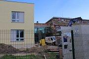 Přestavba a dostavba Domova pro seniory v Kaplici.