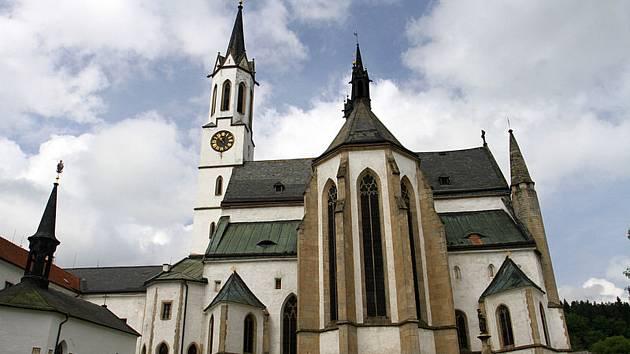 Vyšebrodský cisterciácký klášter.