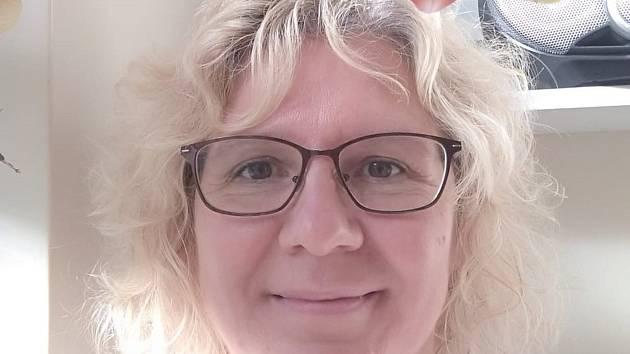 Fyzioterapeutka Alena Odlová nyní pracuje na odběrovém místě.