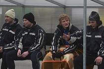 V Rokycanech útočníci Rudolf Weinhard (vlevo) a Jiří Babouček (vpravo) střídali, doma proti Kopanině hráli už od začátku, Babouček se z penalty zapsal i do střelecké listiny, ale nakonec vyšli zelenobílí z partie s posledním naprázdno.