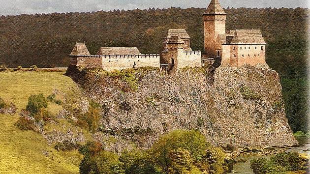 Hrad nalezneme v jihovýchodním nároží planiny nad levým břehem řeky Malše v nadmořské výšce 600 metrů nedaleko Skoronic. Rekonstrukce přibližuje podobu hradu kolem roku 1430.