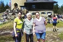 Na Kleť se Marie Stropková vrátila letos v květnu.