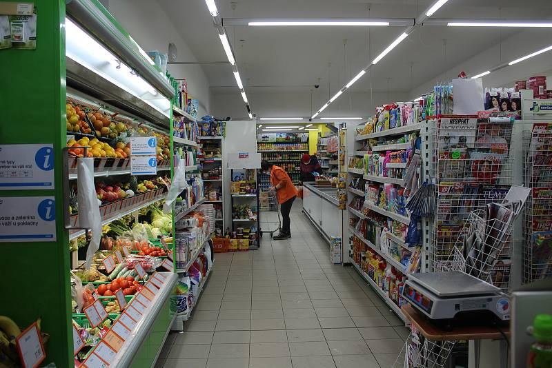 Maloměstská prodejna. Ilustrační foto