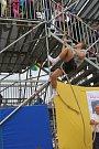 Závod v olympijském šplhu na Rio Lipno.