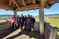 Nordic walking byl příjemnou procházkou kolem Horní Plané.