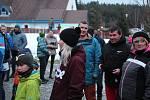 Vyhlášení výsledků McDonald's Winter Cupu 2020 ve skiareálu Lipno.