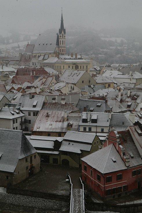 Český Krumlov.vánoční žánry