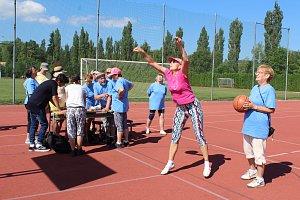 Seniorské sportovní hry v Kaplici.