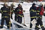 Desítky záchranářů se sobotního výcviku zúčastnily v rámci svého volna.