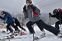 Zimní kurz si žáci užijí i bez sněhu