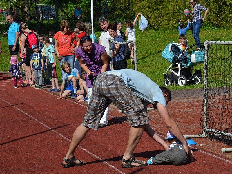 Večerní běh Křemží - středa 17. května 2017.