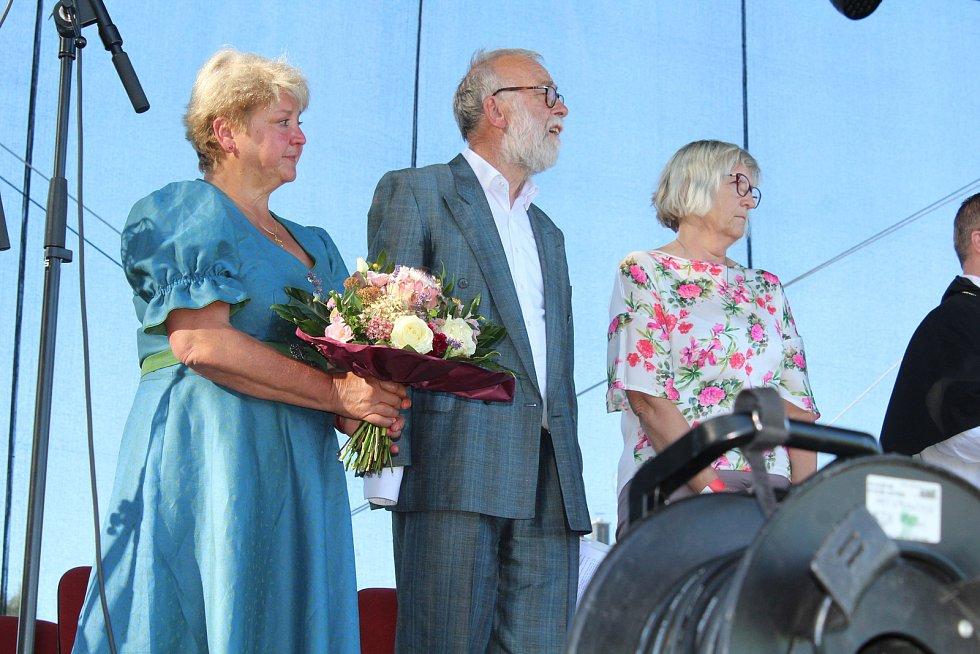 Sobotní odpoledne a večer v Dolní Vltavici patřil projektu Dolní Vltavice žije!
