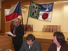 Ustavující zasedání zastupitelstva v Holubově.