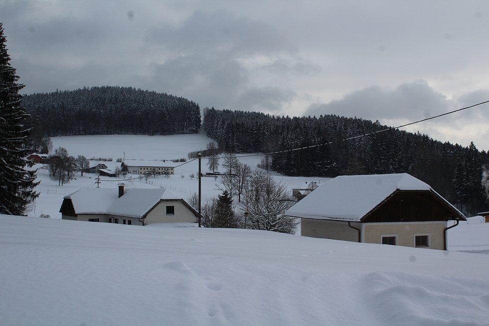 Na přechodu Guglwald je ticho a prázdno.