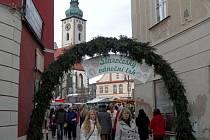 Staročeský vánoční trh v Táboře. Ilustrační foto.