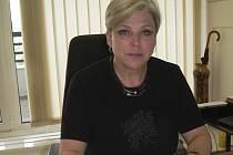 Ředitelka českokrumlovského gymnázia Hana Bůžková.