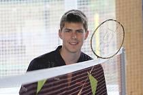 Novou hvězdou okresu je badmintonista Jaromír Janáček (na archivním snímku, v době vyhlášení hrál na turnaji v Turecku).