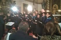 Koncert v kostele sv. Bartoloměje v Malontech.